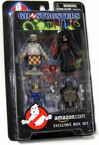 Ghostbusters Minimates Amazon.com Exclusive Box Set