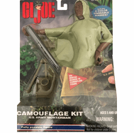 GI Joe Camouflage Kit U.S. Army Mortarman Figure
