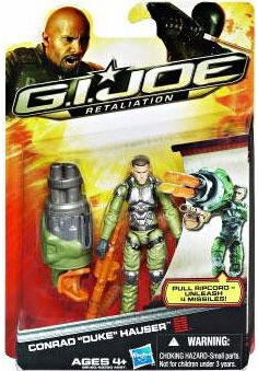 GI Joe Retaliation Conrad Duke Hauser Action Figure