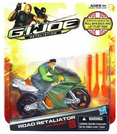 GI Joe Retaliation Road Retaliator Cycle