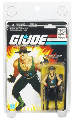 GI Joe Sgt. Slaughter San Diego Comic Con 2010 Exlusive Figure