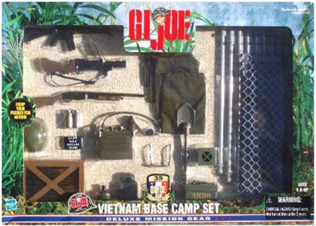 GI Joe Vietnam Base Camp Deluxe Mission Gear Set