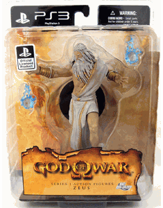 God of War III Zeus Action Figure