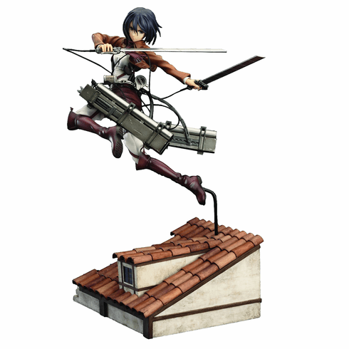 Good Smile Company Attack on Titan Mikasa Deluxe Version Statue