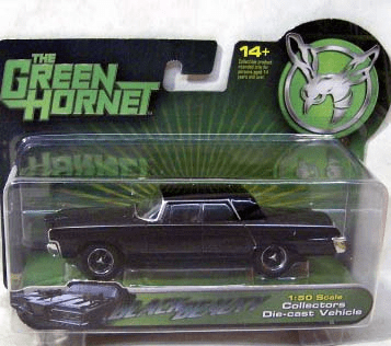 Green Hornet Movie Black Beauty Die-Cast Car