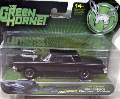 Green Hornet Movie Firepower Black Beauty Die-Cast Car