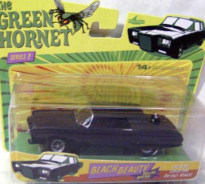 Green Hornet Rolling Arsenal Black Beauty Die-Cast Car
