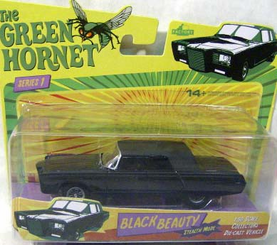 Green Hornet Stealth Mode Black Beauty Die-Cast Car
