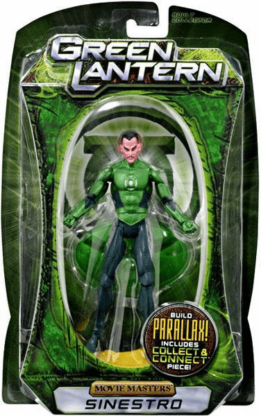Green Lantern Movie Masters Sinestro Figure
