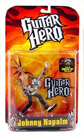 Guitar Hero Johnny Napalm Action Figure