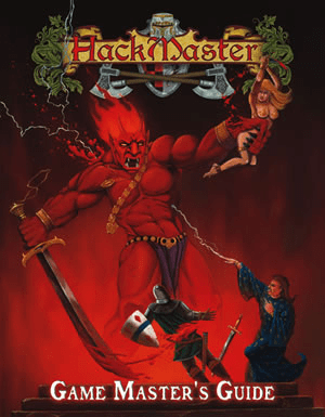 HackMaster Role Playing Game GameMaster's Guide Core Book