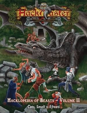 HackMaster RPG Hacklopedia of Beasts Volume 2 Special Reference Book