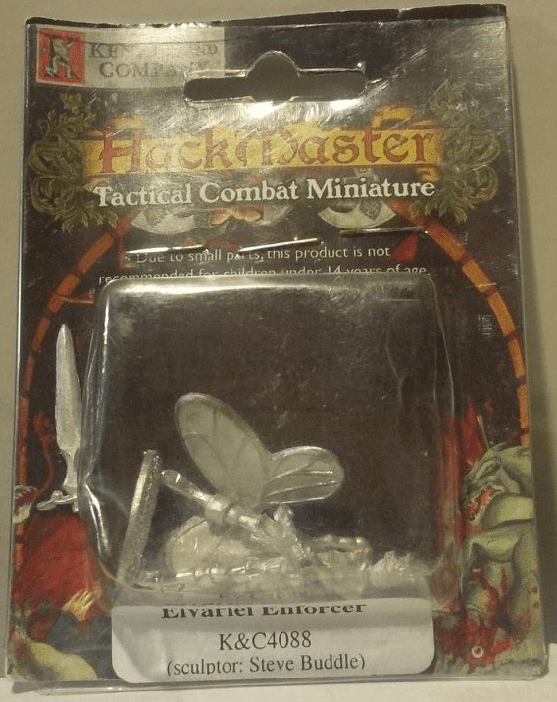 HackMaster Tactical Combat Elvariel Enforcer Miniature