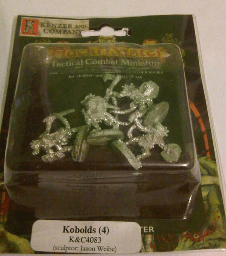 HackMaster Tactical Combat Kobolds Miniature Set