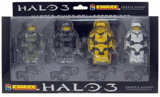 Halo 3 Series 2 Kubrick Master Chief Collectors Set  Figures