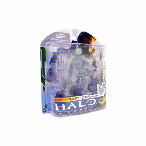 Halo 3 Series 5 Spartan Soldier Master Chief Active Camo Figure