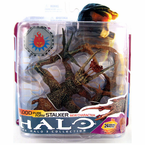 Halo 3 Series 6 Flood Pure Form Stalker Figure