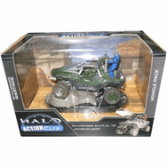 Halo ActionClix Battle-Damaged Warthog Vehicle