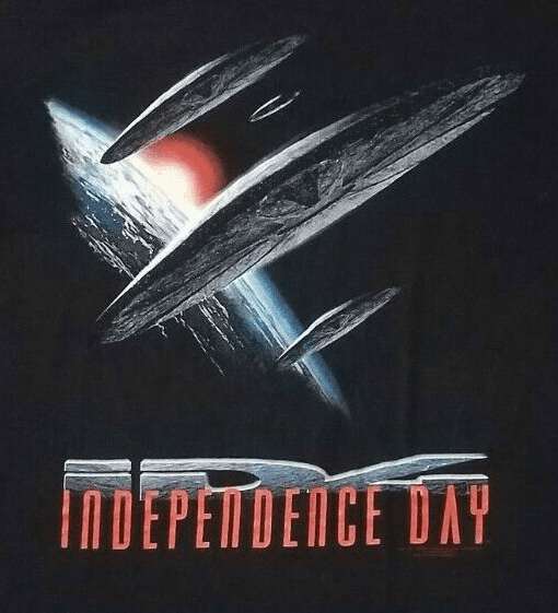 Hanes Independence Day ID4 T-Shirt