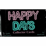 Happy Days Collector Trading Cards Pack