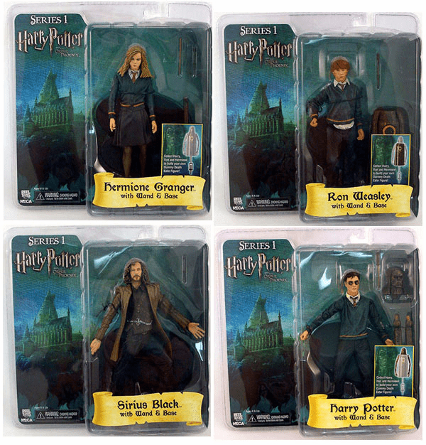 Harry Potter and the Order of the Phoenix Set of 4 Figures