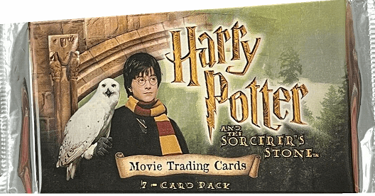 Harry Potter and The Sorcerer's Stone Movie Trading Cards Pack