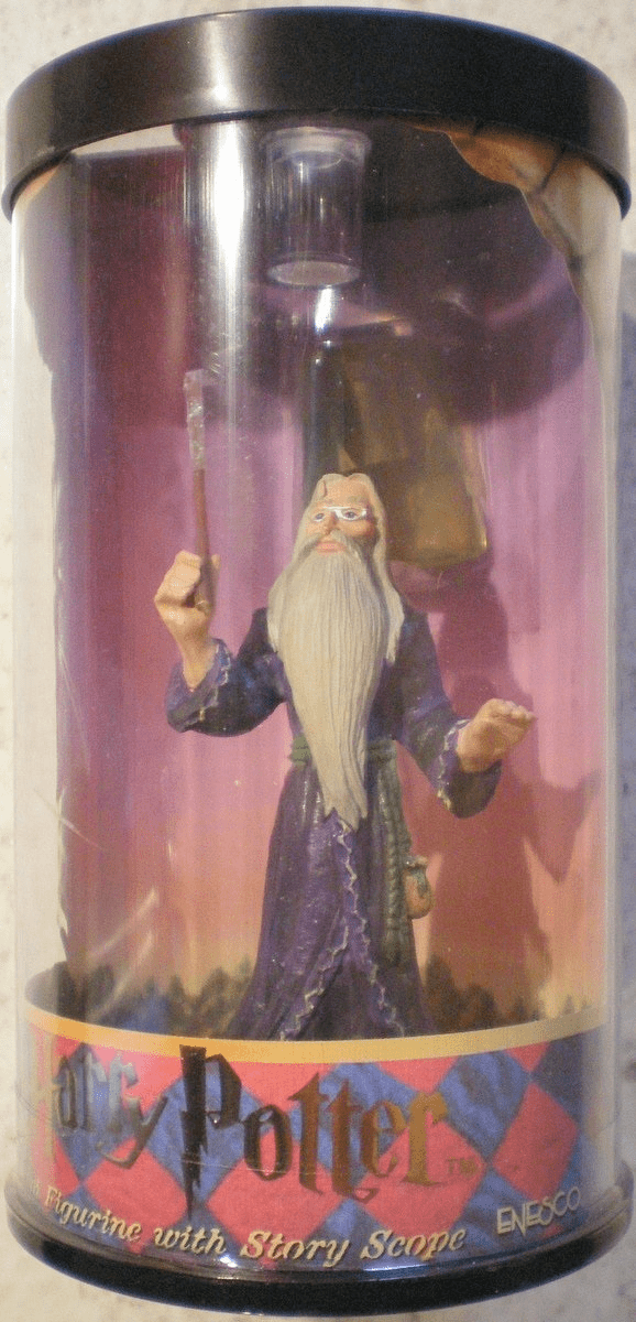 Harry Potter Hero Series Mini Dumbledore Figurine with Scope