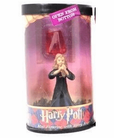Harry Potter Hero Series Mini Hermione Figurine with Scope
