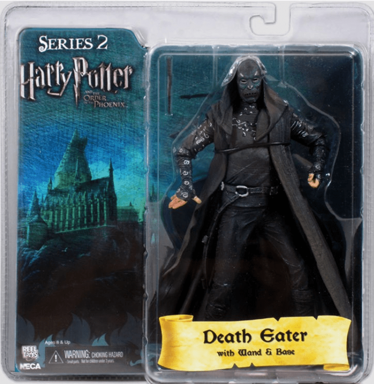 Harry Potter Order of the Phoenix Black Mask Death Eater Figure