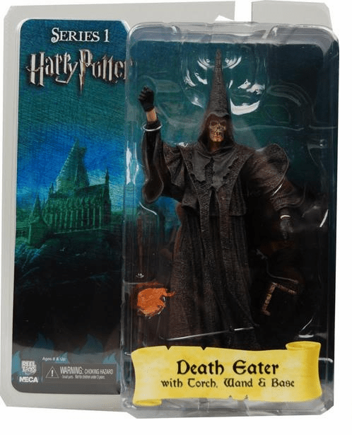 Harry Potter The Goblet of Fire Skull Face Death Eater Figure