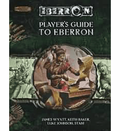Hasbro Dungeons & Dragons Player's Guide to Eberron Sourcebook