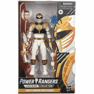 Hasbro Power Rangers Lightning White Ranger Figure