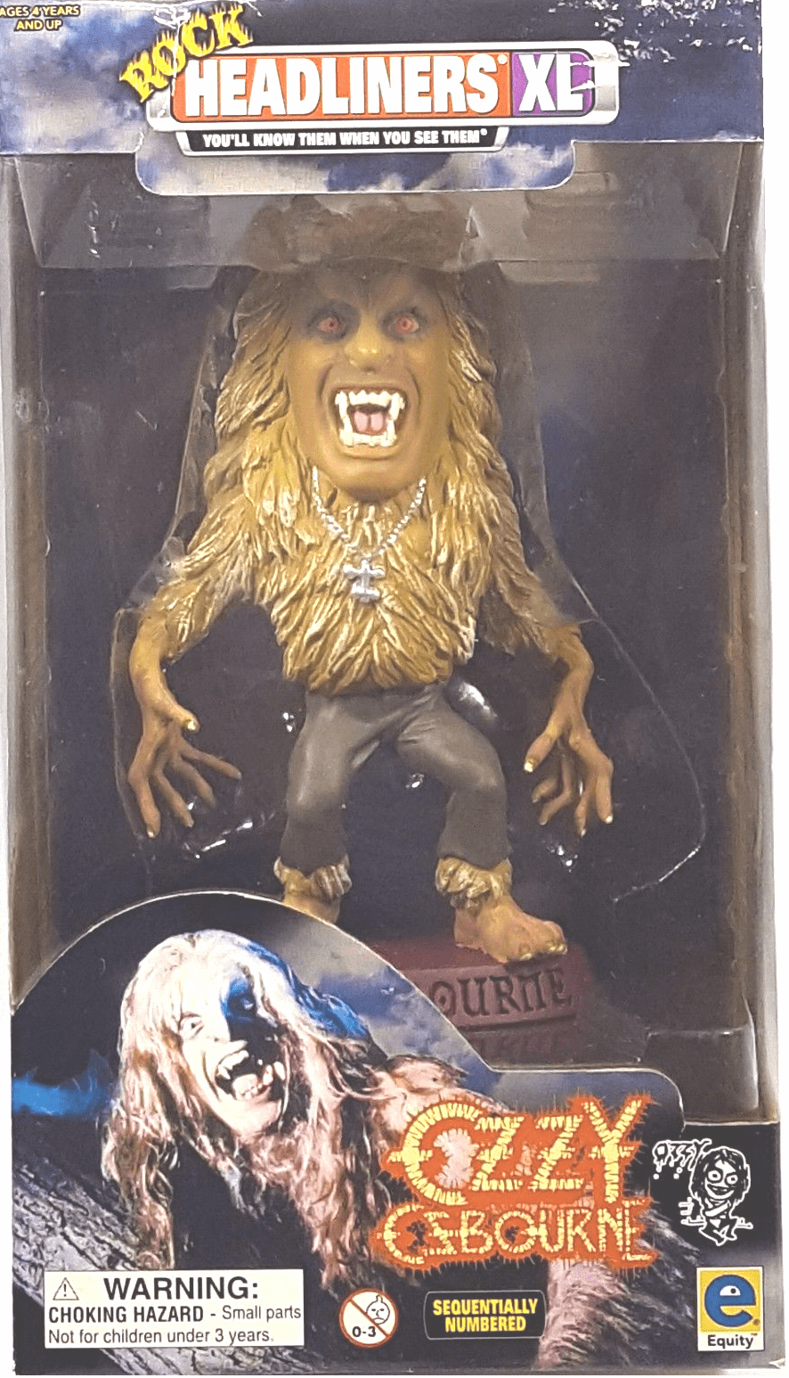 Headliners XL Rock Bark at the Moon Ozzy Osbourne Figure