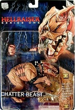 Hellraiser Chatter Beast Action Figure