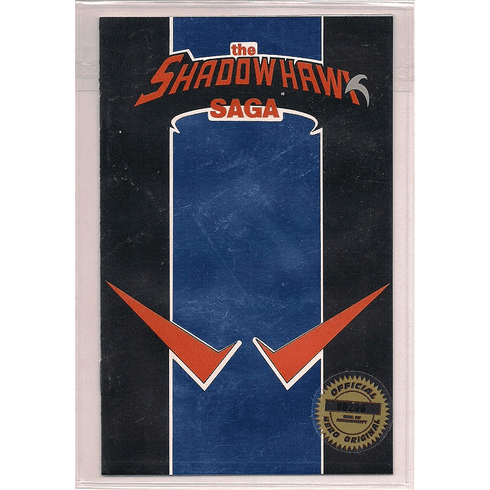Hero Premiere The Shadowhawk Saga Ashcan Comic
