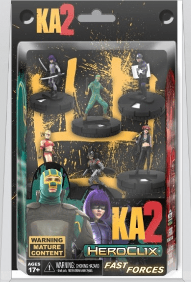 Heroclix Kick-Ass 2 Fast Forces Set