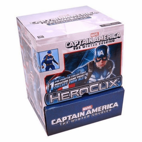 Heroclix Marvel Captain America Winter Soldier Gravity Feed Box