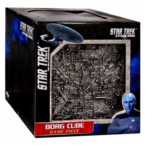 Heroclix Star Trek Attack Wing Borg Cube Expansion Pack