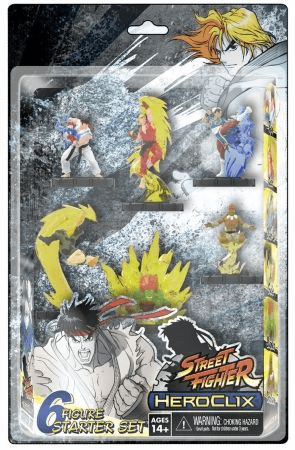 Heroclix Street Fighter Starter Set