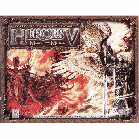 Heroes of Might and Magic V Collectible Card and Tile Game