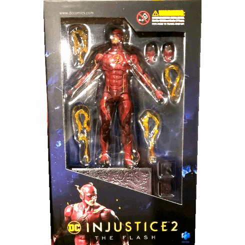 Hiya Toys Injustice 2 The Flash Figure