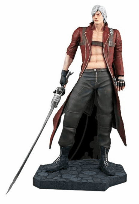 Hollywood Collectibles Marvel vs Capcom Dante Statue