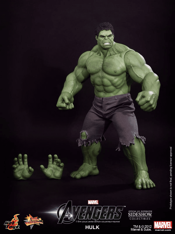 Hot Toys Avengers Movie Hulk Collectible Figure