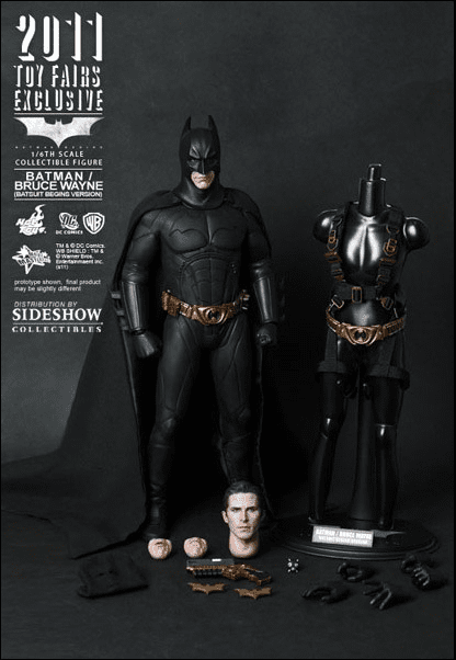 Hot Toys Batman Begins Batsuit Begins Version Figure