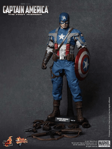 Hot Toys Captain America The First Avenger Movie Masterpiece Figure