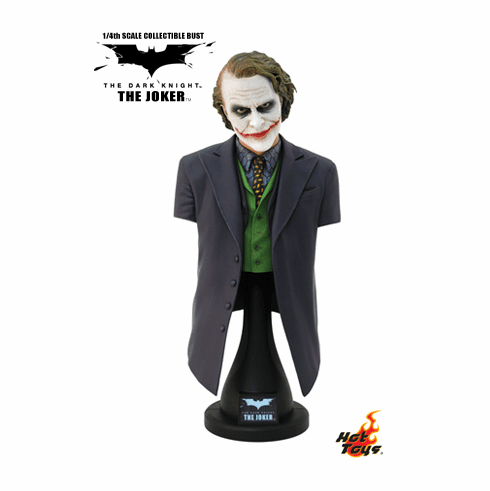 Hot Toys Collectibles The Dark Knight 1/4th The Joker Bust
