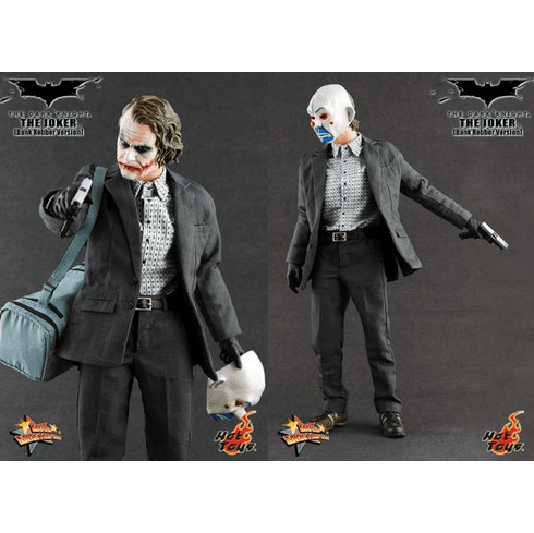 Hot Toys Collectibles The Dark Knight Bank Robber The Joker Figure