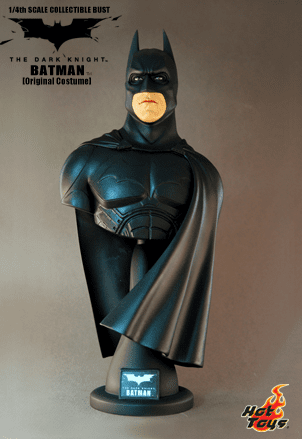Hot Toys Collectibles The Dark Knight Batman Original Costume Bust
