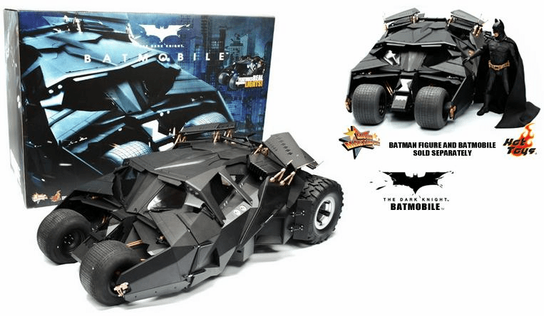 Hot Toys Collectibles The Dark Knight Batmobile1/6 Scale Vehicle