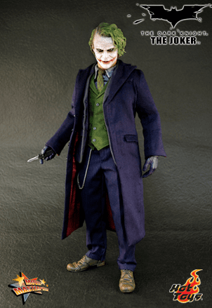 Hot Toys Collectibles The Dark Knight The Joker MMS68 Figure